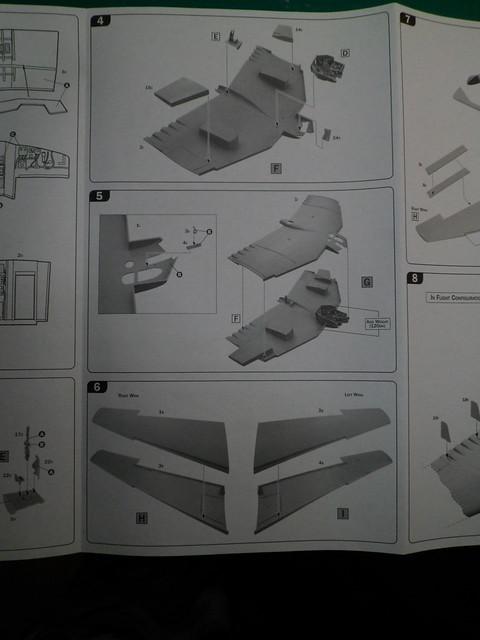 Ouvre-boîte Northrop YB-49 [Italeri 1/72] 27228921958_9c50f35200_z