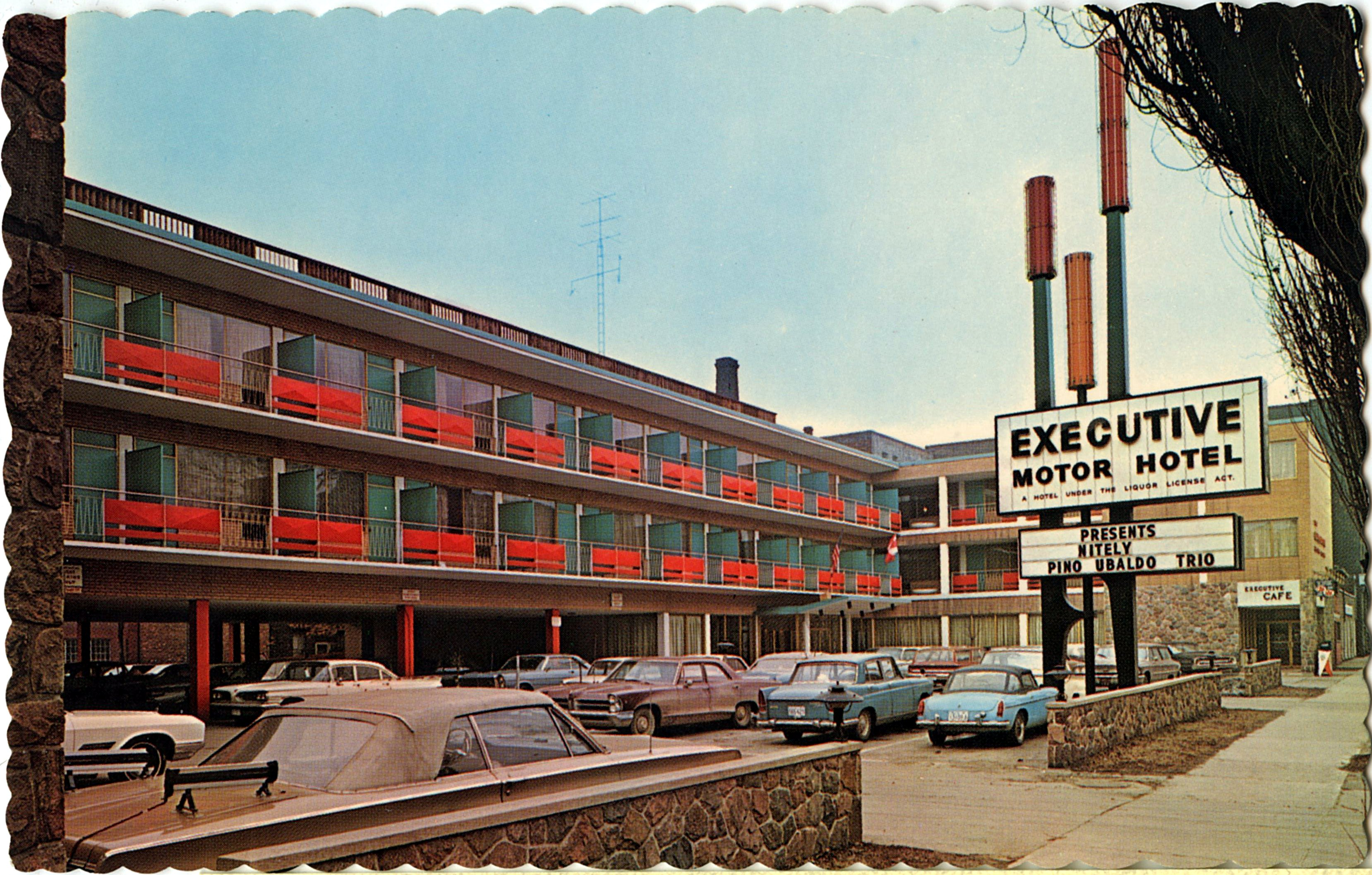 Executive Motor Hotel - Toronto, Ontario, Canada - 1960's