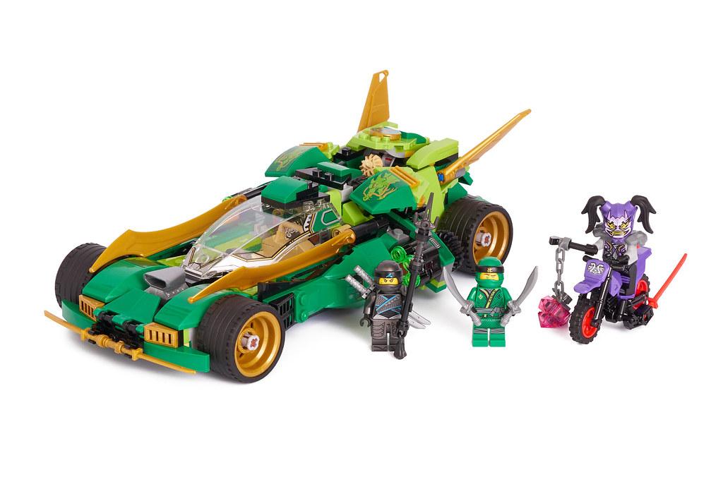 Lego Ninjago 70641 Ninja Nightcrawler Review Brickset Lego Set