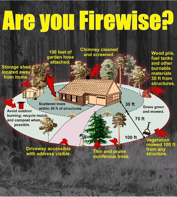 Firewise infographic