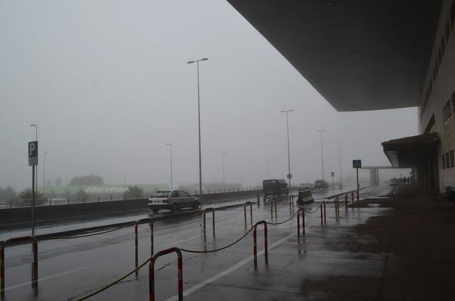 Foggy Los Rodeos, Tenerife