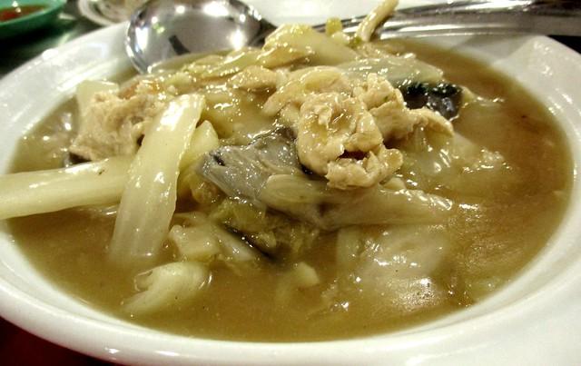 Hock Chu Leu braised Chinese cabbage