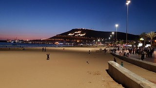 Dusk in Agadir | by chrisshots