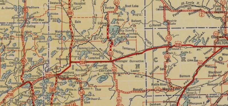 Us 65 North Of Minneapolis - Us-map-minneapolis