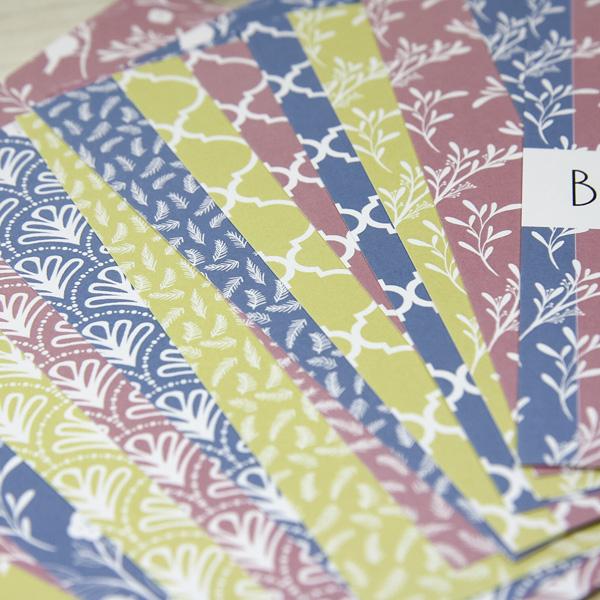 StickerKitten Bird Garden basics paper pack - beautiful paper for card making