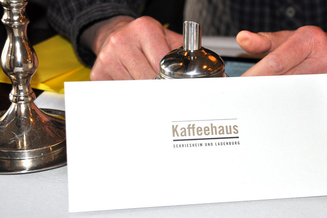Ladenburg am Neckar ... März 2018 ... Foto: Brigitte Stolle ... Kaffeehaus