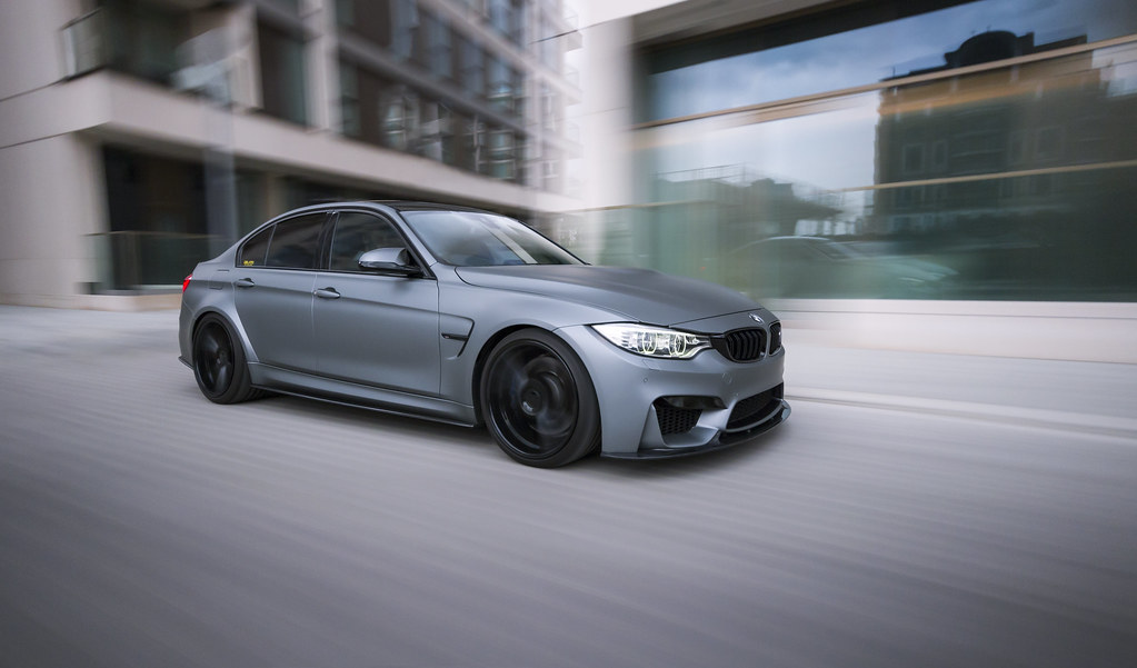 Cmurkee Bmw F80 M3 On Vossen Vfs2 Custom And Lowered On E Flickr