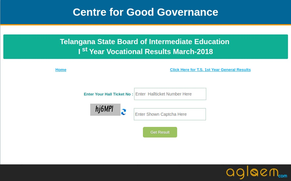 Telangana 12th Results