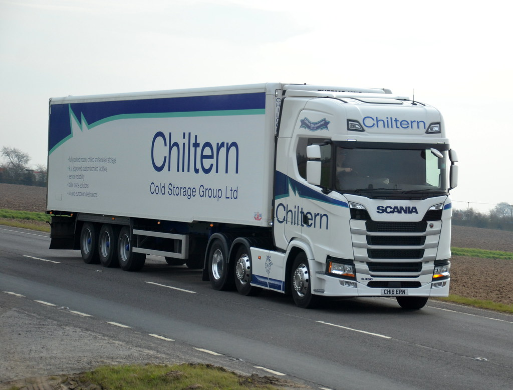 ... CH18 ERN NEXT GENERATION SCANIA S450 of CHILTERN COLD STORAGE @ BOSTON A52  Friday 06th & CH18 ERN NEXT GENERATION SCANIA S450 of CHILTERN COLD STORu2026 | Flickr