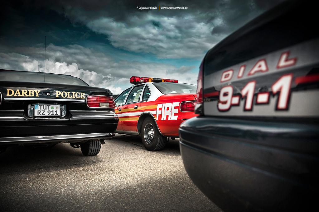 Dial 911   Police and Fire Department Vehicles @ American Ca