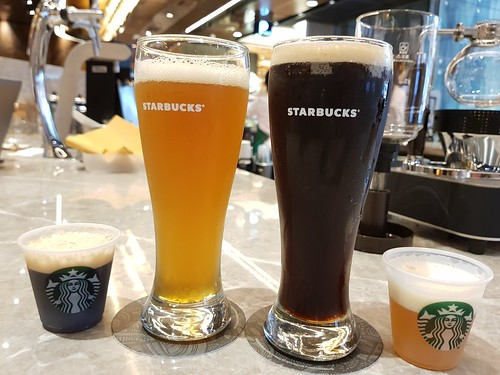 Starbucks Hong Kong's Coffee-Infused Craft Beer