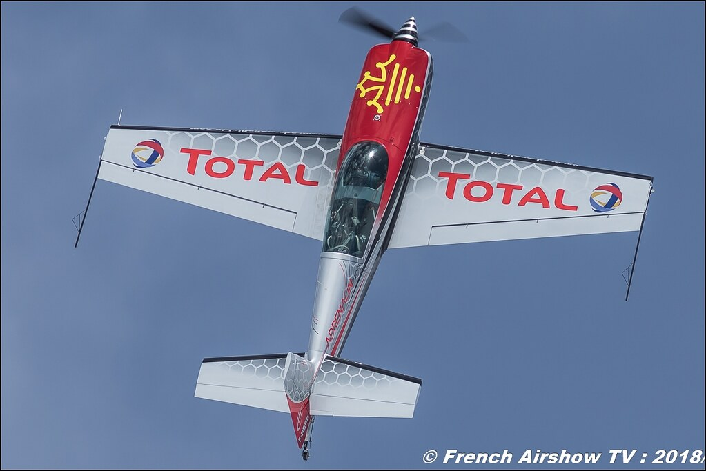 Extra EA-300L - F-HDPP Adrenalin Flights , Fly Courchevel 2018 - Altiport Courchevel , Meeting Aerien 2018
