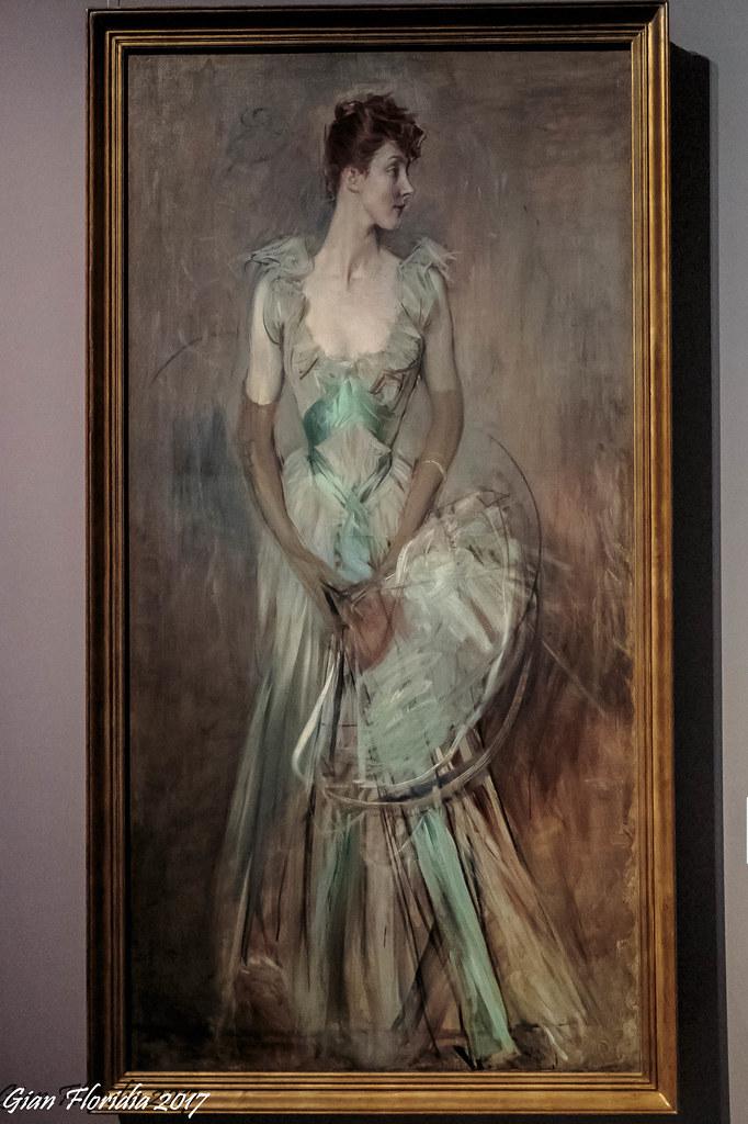 Giovanni boldini mostra ritratto di signora al gam mila for Mostra boldini