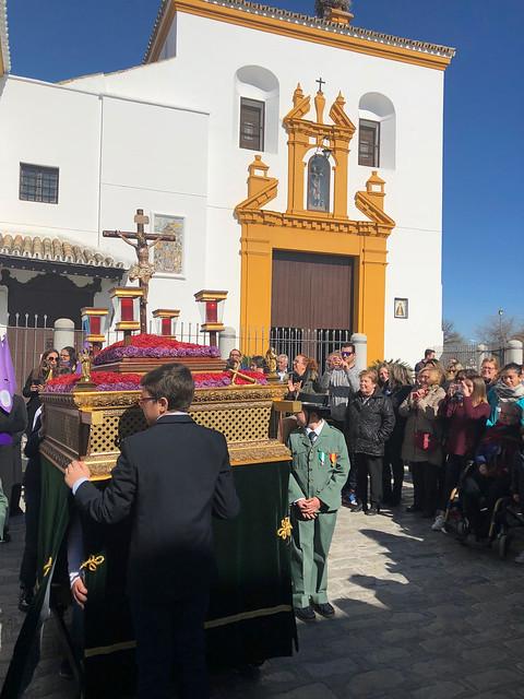 AionSur 26084979437_e2b8f163ba_z_d El colegio de San Roque dedica su cofradía infantil a Gabriel Cruz Educación Semana Santa