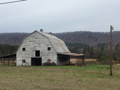 Old Barn in Berry College WMA