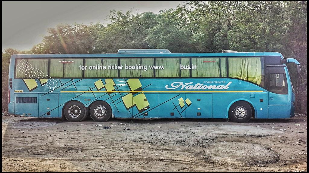National Travel Volvo B9r Sleeper Coach Bus Vishal Mehta Flickr