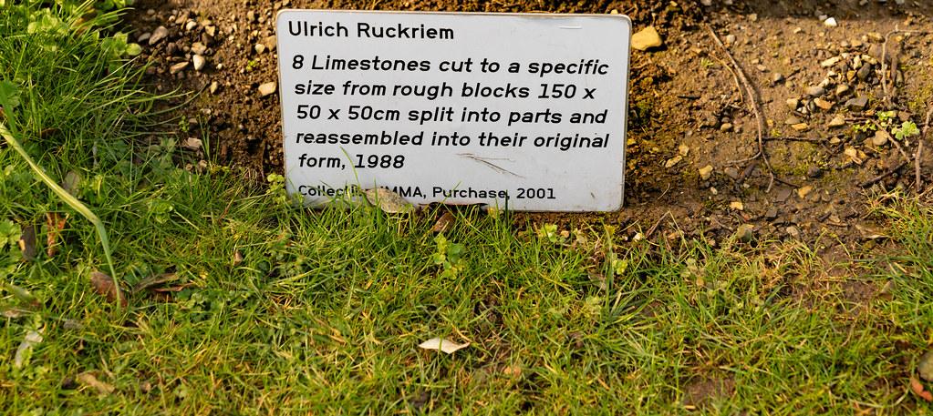 8 Limestones by Ulrich Rückriem [ It Is Not A Ventilation System ] 008