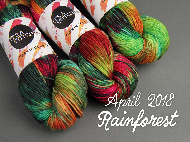 Yarn Club April 2018: 'Rainforest'