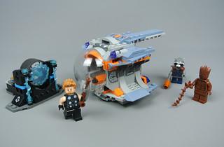 LEGO THOR/'S 1 LIGHT  BLUISH GRAY HAMMER