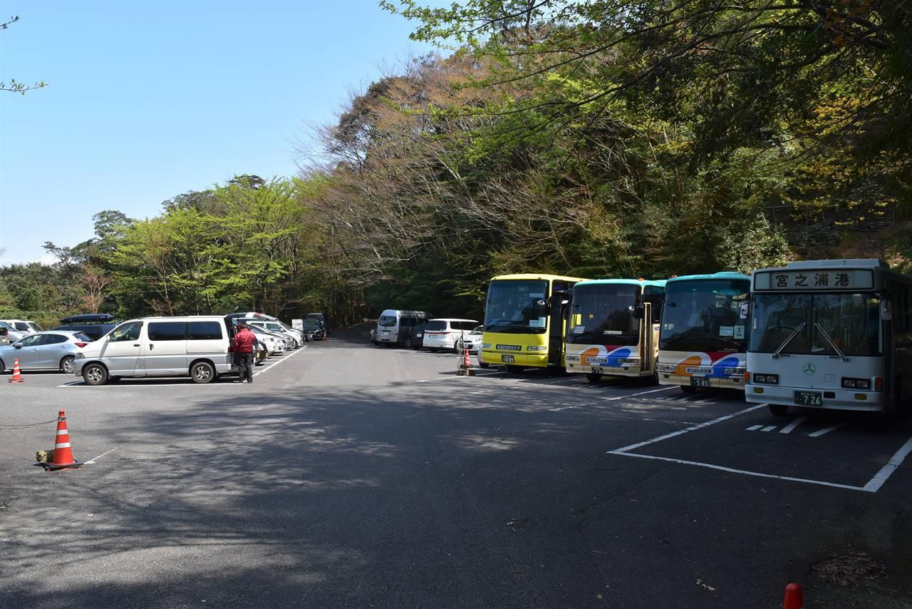 白谷雲水峡駐車場