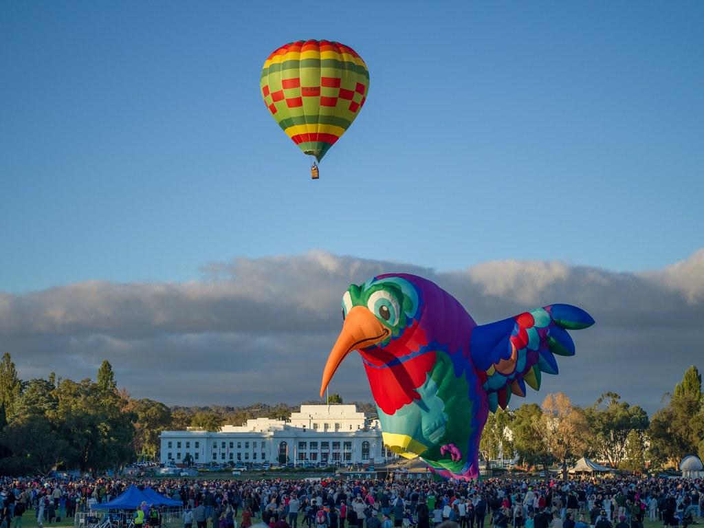 Canberra Balloon Spectacular 2018 - 10 - Parkes - ACT
