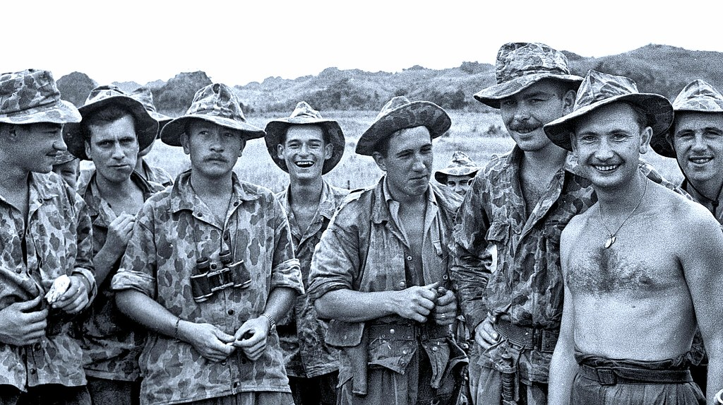 French troopers serving in First Indochina War 1950 | Flickr