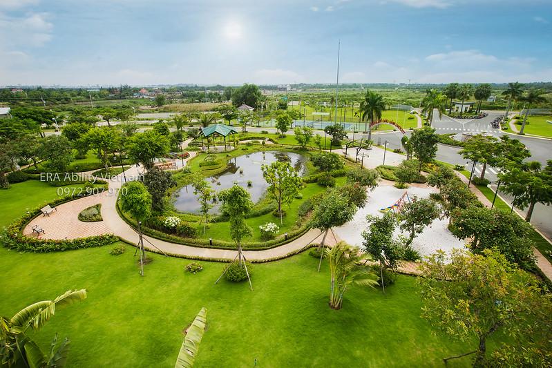 8 công viên cây xanh nội khu Villa Park