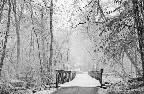 Footbridge in the Snow | by Joe_R