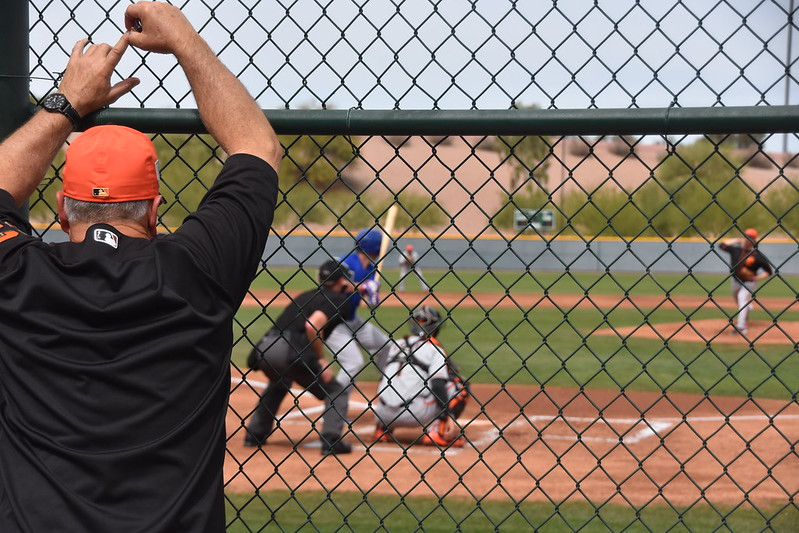 對於小聯盟球員來說,「B Game」是在教練心中留下印象的好機會。(作者提供)