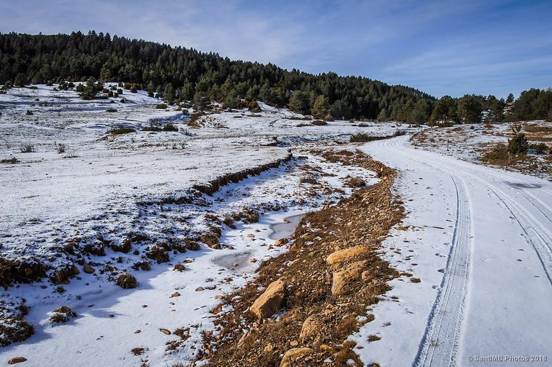Río de Peguera junto al Camino de los Cátaros