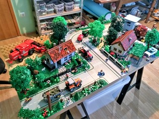 Village diorama 2018 | by monsinjor - Lego MOCs