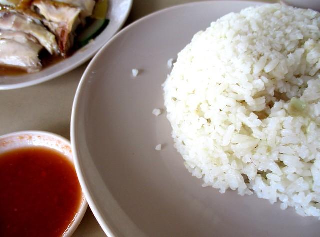 SARAWAKIA Cafe chicken rice & chili dip