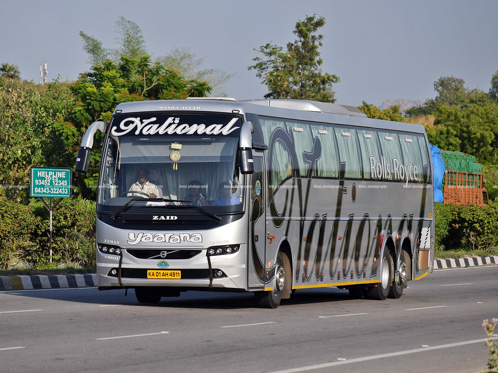 National Yaarana National Travels Volvo B11r 14 5m Name Flickr