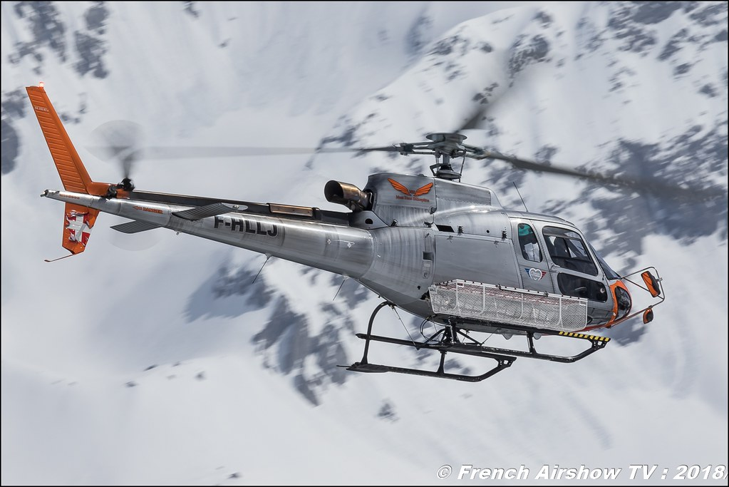 H125 - F-HLLJ , CMBH - Chamonix Mont blanc Hélico , Fly Courchevel 2018 - Altiport Courchevel , Meeting Aerien 2018