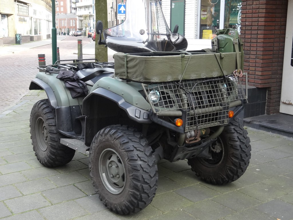 Yamaha Grizzly 660 >> 2006 Yamaha Grizzly 660 A Yamaha Grizzly Atv In Army Colou Flickr