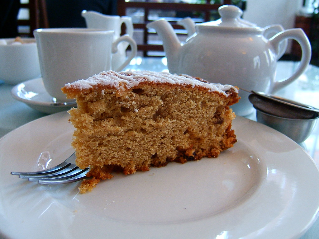Apple Cake Cake And Tea At Tallulah S Tearoom The Most