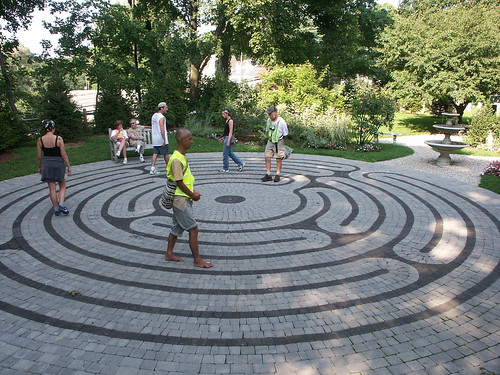 Labyrinth in Norwalk CT | by neonlike