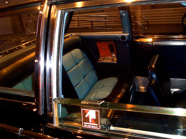 John Kennedy Ford >> Kennedy Death Car interior, Henry Ford Museum, Detroit ...