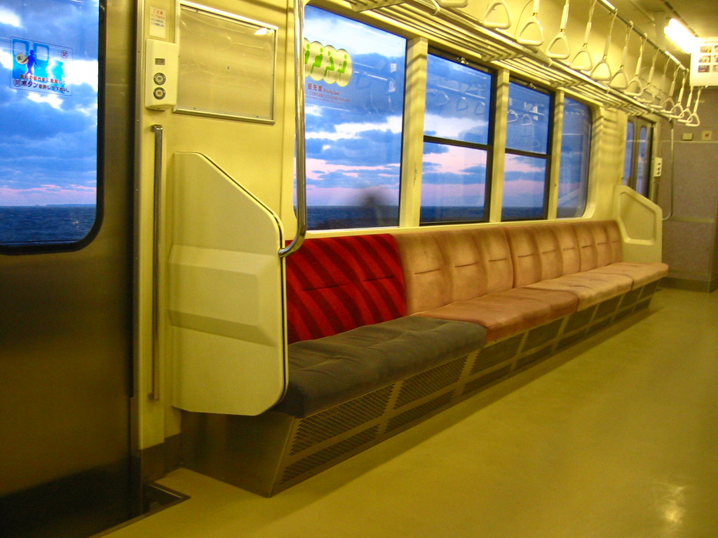 Local Trains To Hirosaki Traveling Along The Sea Of