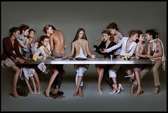 models last supper | by the cool hunter
