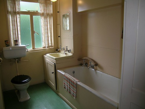 1940s post war prefab bathroom martin and geraldine flickr for House bathroom photos