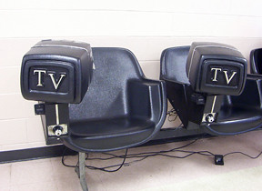 Charmant By HibouBuee Weird TV Chairs At A Bus Station. | By HibouBuee