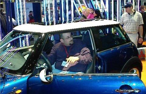 2002 Chicago Auto Show MINI Cooper