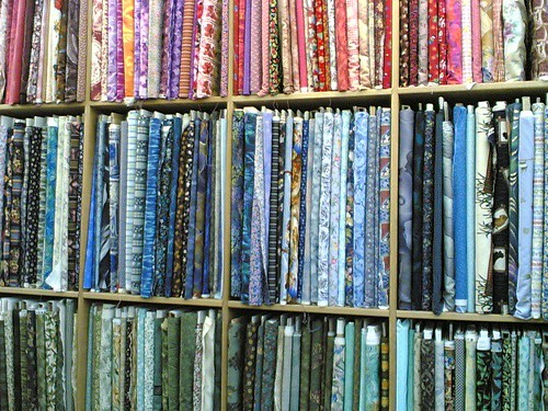 Patchwork Fabric! | by clotilde