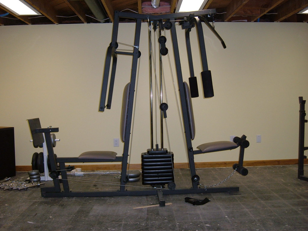 Old Weider Home Gym