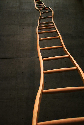 """Ladder for Booker T. Washington"" by Martin Puryear 