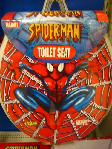 Spider Man Toilet Seat Eek Toilet Spiders Prentiss
