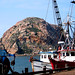Red Boat and Morro Rock