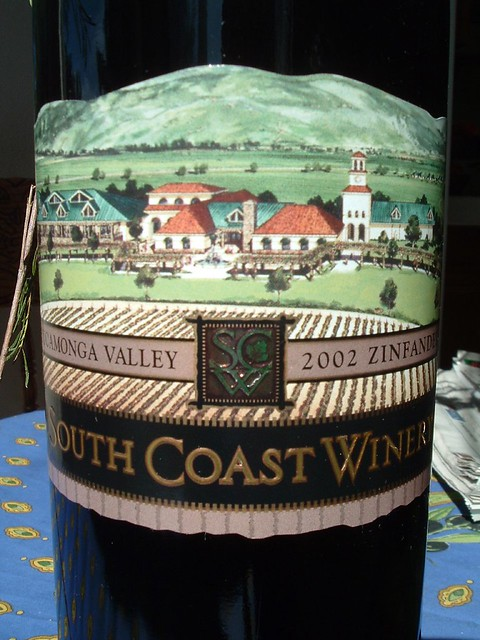 South Coast Winery Restaurant Reviews