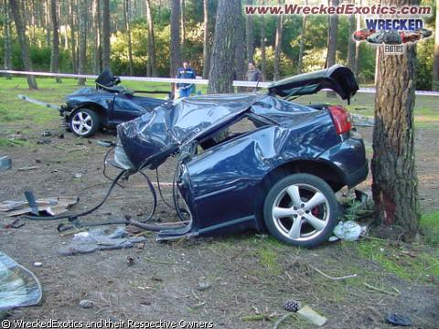 Audi A3 Real Crash Damage Totalled Chandra Goenadi
